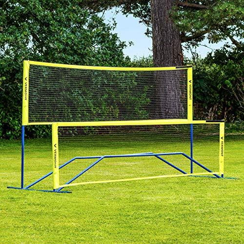 Vermont Procourt Mini-Tennis und Badminton Kombinetz - Tragetasche Wird enthalten - DREI Größe erhältlich (3m)