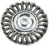 Silverline 719823 Twist-Knot Wheel, 150 mm