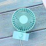 WXIN / Mini Ventilator Usb Mini Stillen Schreibtisch Fan Studentenwohnheim Bett Kleinen Schreibtisch Fan / Blau