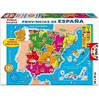 Educa Borrás - Provincias España (14870),150 piezas