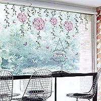 Pegatina para ventana escaparate comercio floristerias pared salon dormitorios mariposas de OPEN BUY