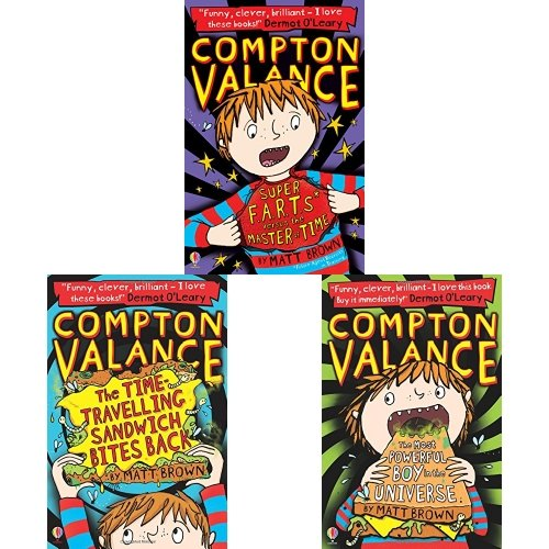 Compton Valance Three Book Bundle