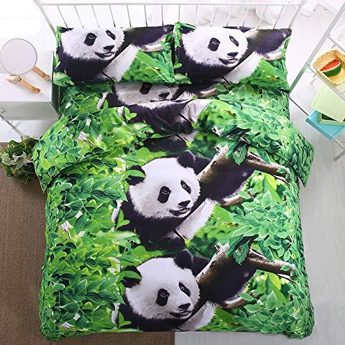 Saum Kreis Rock (Panda Bettwäsche 3D Peacock vierteilige HD Aktivdruck und Färben vierteilige Panda 2.2 Bettbezug 220 * 240cm)