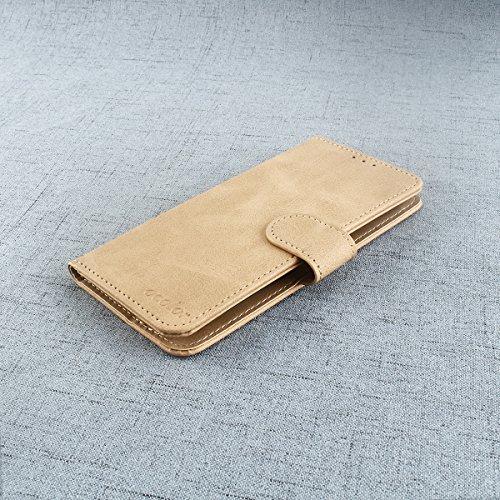 Venga amigos Hülle für Doogee X53,Bookstyle Premium PU-Leder klapptasche Case Brieftasche Etui Schutz Handyhülle für Doogee X53