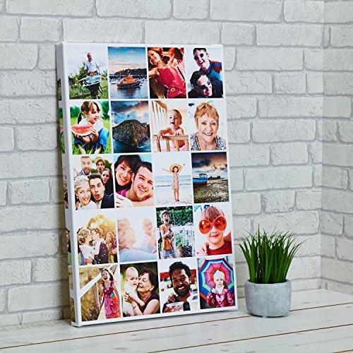 Cuadro-COLLAGE-CON-TUS-FOTOS- marcos de fotos -en-lienzo-sobre-bastidor-de-madera-de-35mm