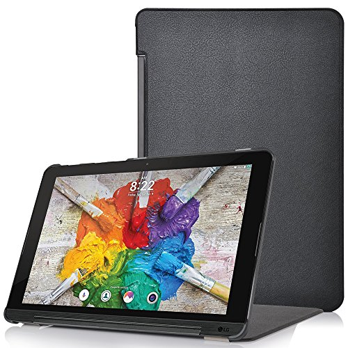 Forefront Cases® LG G Pad X II 10.1 Hülle Schutzhülle Tasche Case Cover Stand - Ultra Dünn & Leicht mit R&um-Geräteschutz (SCHWARZ)