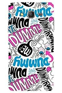 AMAN Ya Dummy 3D Back Cover for Samsung Galaxy On7