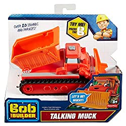 Fisher-price Bob The Builder Talking Muck By Fisher-price