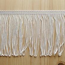 Flecos Blanco para vestido RGT 10 cm ancho, arte, moda, por metros