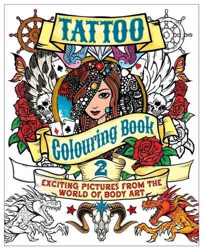 Tattoo Colouring Book 2