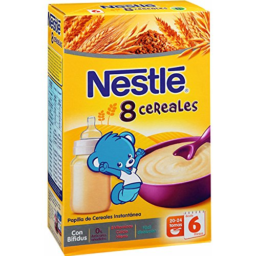 Papilla 8 Cereales 6 meses Nestle 600gr