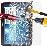 Samsung Galaxy Tab 3 (7.0 Inch) P3200 Tablet Tempered Glass Crystal Clear LCD Screen Protector Guard & Polishing Cloth BY SHUKAN®