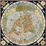 Mapa de tierra plana - Urbano Monte 1587