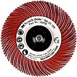 3 m BB-ZB Radial bermaro cepillo tablero, tipo C, Korn220, de diámetro 76 mm color rojo