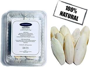 SmarddFeed - Sepia Schalen Natürliche Kalziumquelle 8 Stück Für Schildkröten, Vögel, Bartagamen/Top Qualität / 100% Natürlich