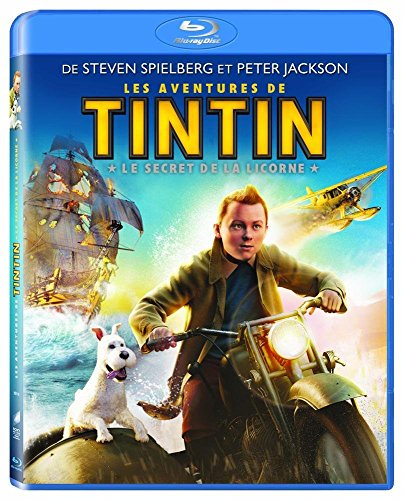Les Aventures de Tintin : Le secret de la Licorne [Francia] [Blu-ray]