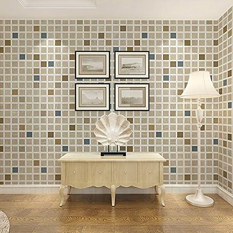 BIZHI Moderne Tapeten Art-Deco-3D Mode Streifen Tapete Wandverkleidung PVC selbst