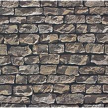 Pop Up Panel 52x250cm Selbstklebend 3D Effekt 95574 1 Mauer Stein Beige