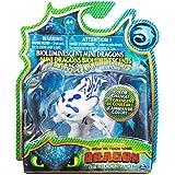 Cómo entrenar a tu dragón - Mini Furia Luminosa, Dragons mini Lightfury (Bizak 61926628