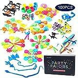 Amy & - Caja de tesoros de Benton premios para aula juguete surtido para niños cumpleaños fiesta regalos 100 piezas