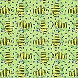 Fabulous Fabrics Single Jersey Punkte Janosch lichtgrün