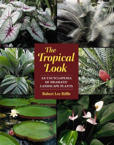 The Tropical Look: An Encyclopedia of Dramatic Landscape Plants por Robert Lee Riffle
