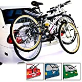 CAR CYCLE CARRIER 2 BICYCLE BIKE RACK UNIVERSAL FITTING...