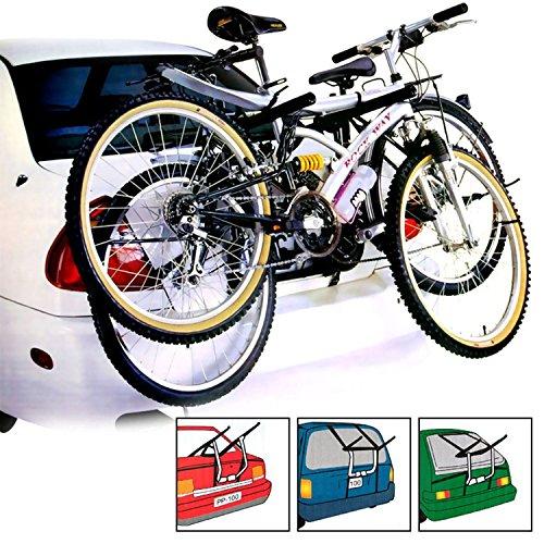 Auto Fahrradträger 2Fahrrad Bike Rack Universal Armatur Limousine Schrägheck Kombi