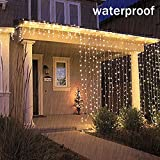 Battery Operated Waterproof Fairy Lights with 10M 100 Warm White LEDs