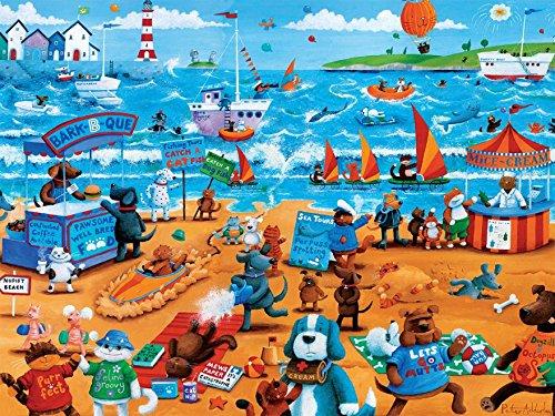 Ceaco Pfoten und Krallen-Hunde und Katzen Puzzle - Jig Saw Puzzle Hund