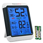ThermoPro TP55 Digital Hygrometer Indoor Thermometer Humidity Gauge with Jumbo Touchscreen and Backlight Temperature...