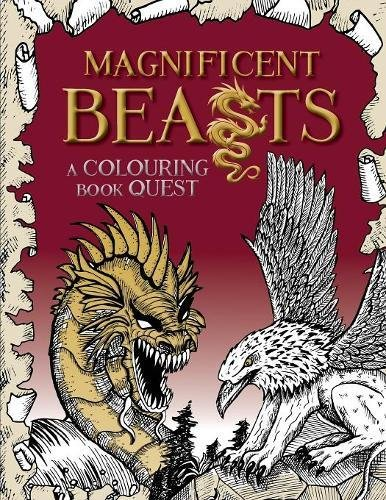 Magnificent Beasts: A Colouring Book Quest