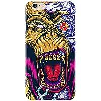 Cover Custodia Protettiva Mechanical Monkey Scimmia Head Testa Crazy Pazzia Feroce Horror Sangue Case Iphone 4/4S/5/5S/5SE/5C/6/6S/6plus/6s plus Samsung S3/S3neo/S4/S4mini/S5/S5mini/S6/note