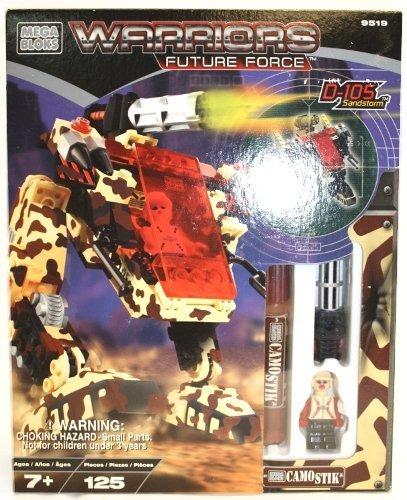 Mega Bloks 9519 Warriors Future Force - D-105 Sandstorm