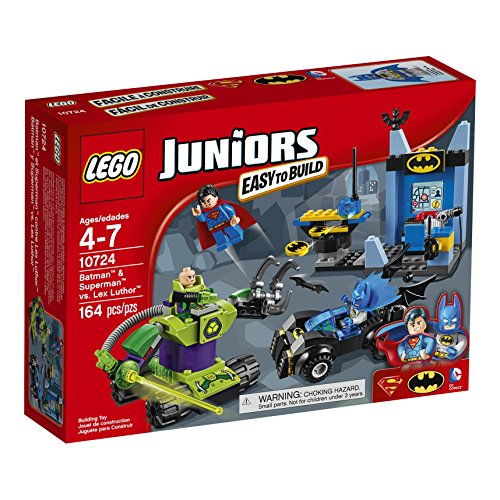 LEGO Juniors 10724 Batman & Superman vs Lex Luthor Building Kit (164 Piece) by LEGO Juniors