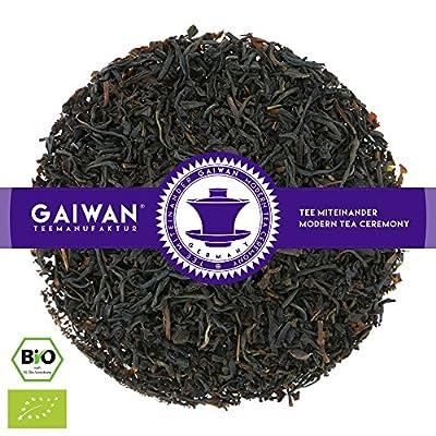 "N° 1267: Thé noir bio ""Earl Grey classique"" - feuilles de thé issu de l'agriculture biologique - GAIWAN® GERMANY - thé noir d'Assam, Nilgiri"