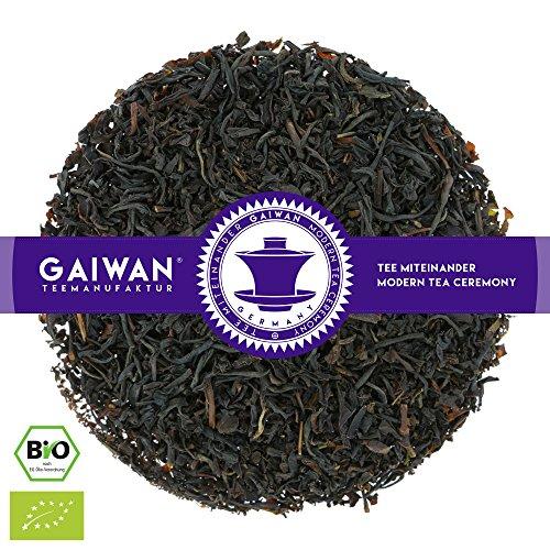 "Nr. 1267: BIO Schwarzer Tee ""Earl Grey Classic"" - 250 g - GAIWAN® TEEMANUFAKTUR - Bergamotte, Schwarztee aus Assam und Nilgiri, Loser Tee Bio, Biotee, Organic Tea"