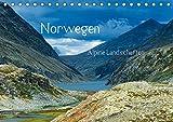 Norwegen - Alpine Landschaften (Tischkalender 2019 DIN A5 quer): Eine Reise durch die alpinen Landschaften Norwegens (Monatskalender, 14 Seiten ) (CALVENDO Natur) - Christian von Styp