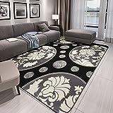 Japanische Modernen Minimalistischen Schlafzimmer Teppich Normales Bett  Decke Bedeckt Das Wohnzimmer Tisch Industrial Wind Grau Schwarz