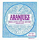 Aranjuez A500S BRILLANTE SILVER Set, Medium Tension
