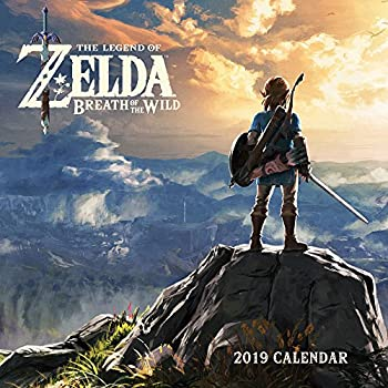 The Legend of Zelda Breath of the Wild 2019 Calendar