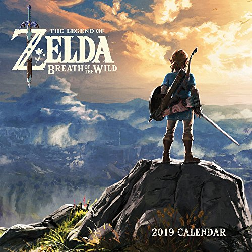 The Legend of Zelda Breath of the Wild 2019 Calendar par Pokemon