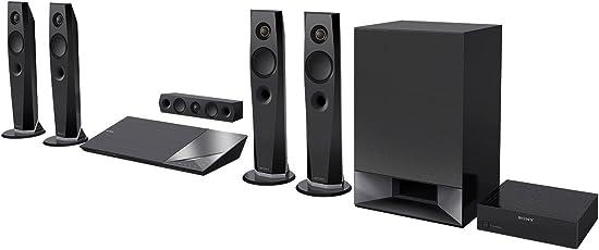 Sony BDV-N7200W 5.1 Blu-ray Heimkinosystem (1200 Watt, 4K UltraHD Upscaling, 3D, WLAN, Smart TV, Bluetooth, NFC, Spotify) schwarz