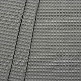 STOFFKONTOR 100% Baumwollstoff Waffel Piqué Stoff