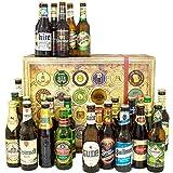 24er Bier Geschenkset | Biere aller Welt und Deutschland | Weihnachten Geschenk