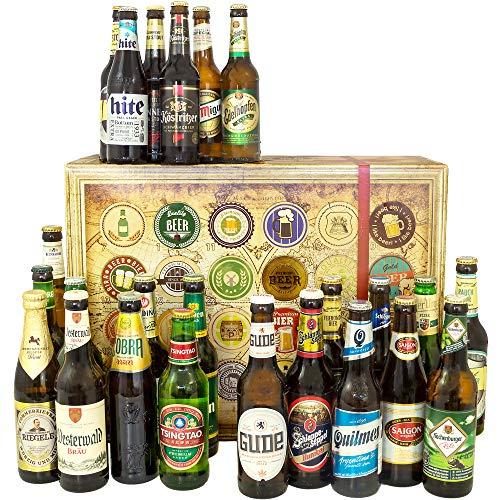 24x Biere aus der Welt + Deutschland