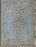 Paperblanks Silberfiligran Kollektion Maya Blau Notizbuch Ultra Liniert