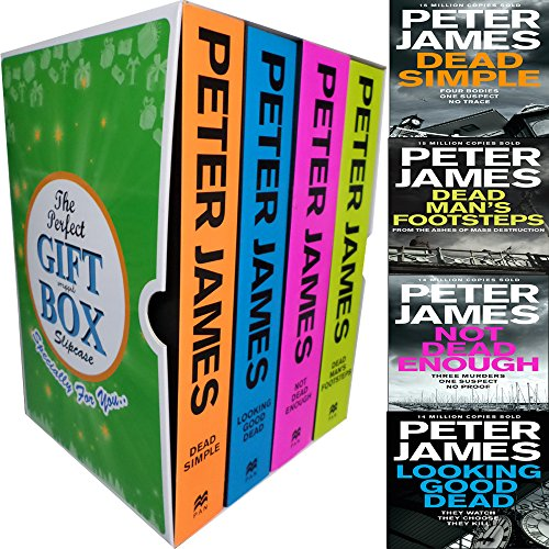 Roy Grace Series 4 Books Bundle Collection By Peter James Gift Wrapped Slipcase Specially For You