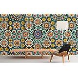 sticker mural de mosaque marocaine pour revtement de mur