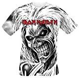 Unbekannt Iron Maiden Killers Allover T-Shirt weiß L